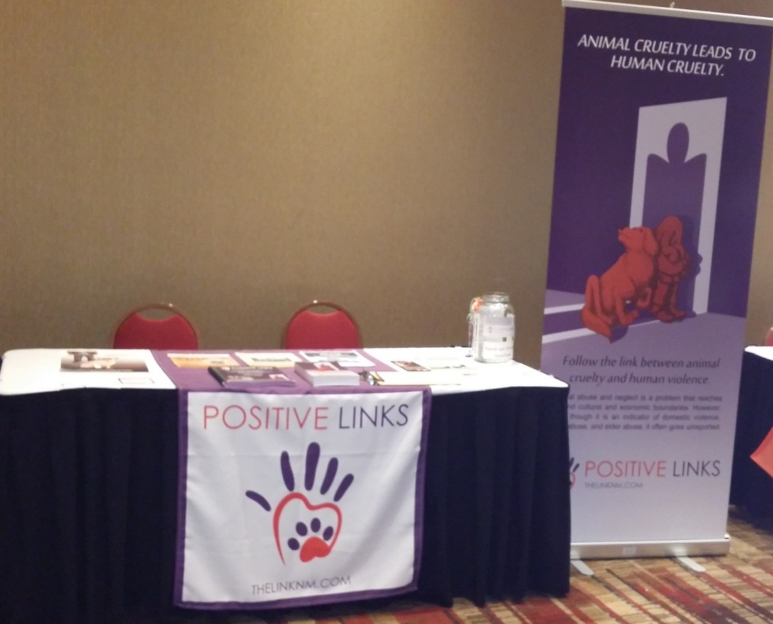 Positive Links booth