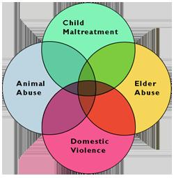 Venn diagram of abuse varieties